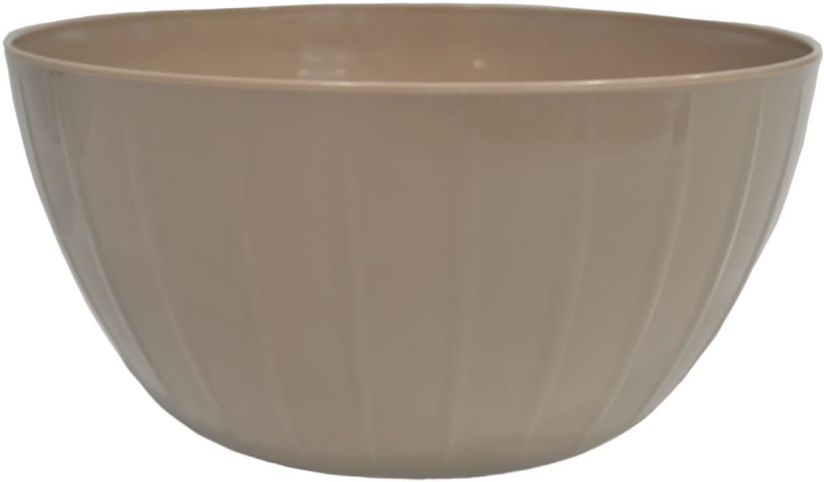 Миска Giaretti Fiesta, цвет: кофейный, 2,8 л391602С линией Fiesta вам не нужно тратить время на поиск подходящих друг другу товаров – все продукты выполнены в одном стиле. Поэтому, вам не обойтись без миски для смешивания продуктов – одного из самых необходимых и функциональных видов посуды. В ней можно перемешивать и взбивать, а устойчивое дно не будет скользить по поверхности стола.