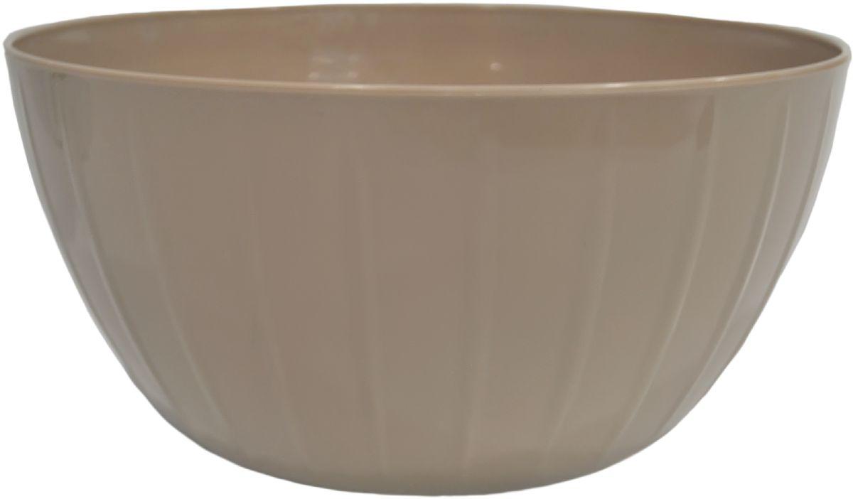 Миска Giaretti Fiesta, цвет: кофейный, 5 лGR1877КФС линией Fiesta вам не нужно тратить время на поиск подходящих друг другу товаров – все продукты выполнены в одном стиле. Поэтому, вам не обойтись без миски для смешивания продуктов – одного из самых необходимых и функциональных видов посуды. В ней можно перемешивать и взбивать, а устойчивое дно не будет скользить по поверхности стола.