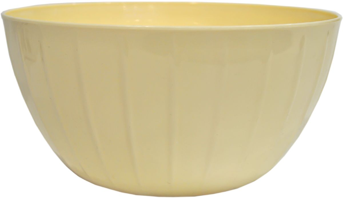 Миска Giaretti Fiesta, цвет: сливочный, 5 л115510С линией Fiesta вам не нужно тратить время на поиск подходящих друг другу товаров – все продукты выполнены в одном стиле. Поэтому, вам не обойтись без миски для смешивания продуктов – одного из самых необходимых и функциональных видов посуды. В ней можно перемешивать и взбивать, а устойчивое дно не будет скользить по поверхности стола.