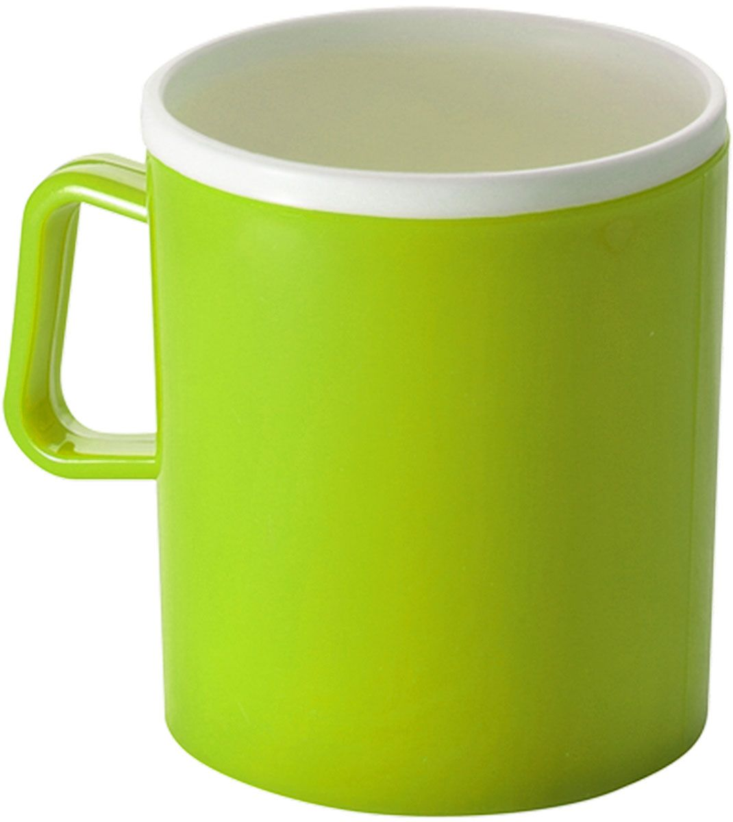 Термокружка Plastic Centre, двойная, цвет: светло-зеленый, 350 мл115510Термокружка Plastic Centre с двойными стенками предназначена для горячих напитков и прекрасно сохраняет их температуру. Прочный пластик подходит для многократного использования. Легкую кружку удобно взять с собой на природу или в поездку. Можно мыть в посудомоечной машине.Объем кружки: 350 мл.Высота кружки: 10 см.