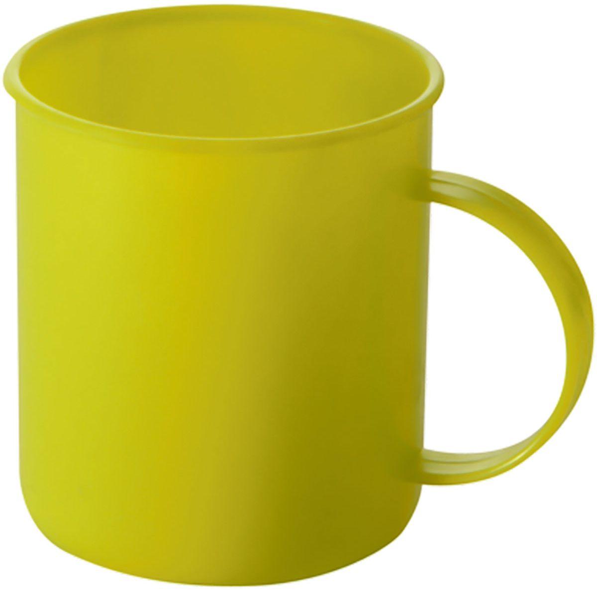 Кружка Plastic Centre Счастье, цвет: желтый, 300 мл391602Кружка Plastic Centre Счастье прекрасно подойдет для дачи, пикника или поездки в поезде. Легкую кружку удобно взять с собой на природу. Прочный пластик подходит для многократного использования.Объем кружки: 300 мл.Размер кружки: 10,5 x 7,8 см.