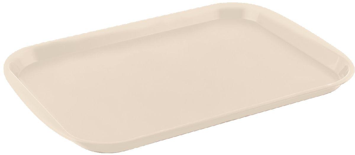 Поднос Plastic Centre Титан, цвет: слоновая кость, 36,5 х 25,5 см115510Поднос универсальный предназначен для переноски посуды. Прочный материал обеспечивает долговечность изделия. Рельефная поверхность предотвращает скольжение посуды на подносе.Размер подноса: 36,5 х 25,5 см.Вес подноса: 160 г.