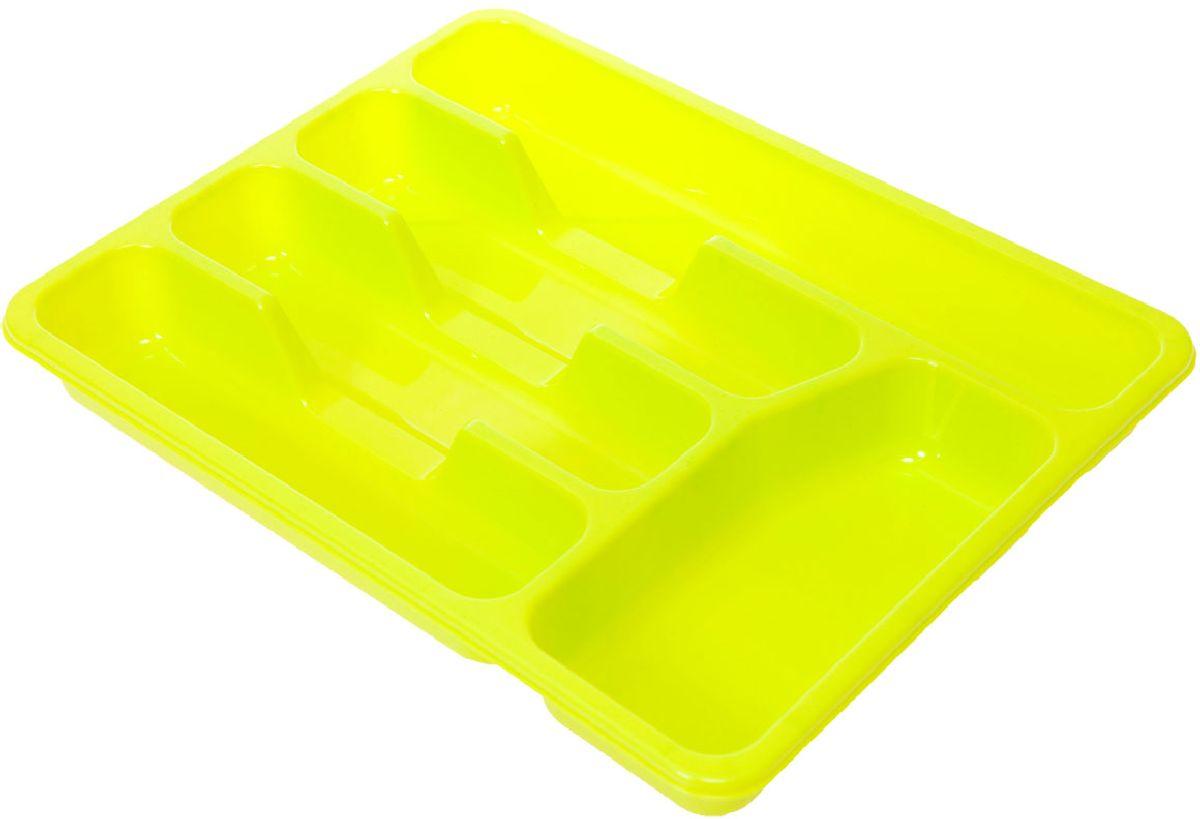 Лоток для столовых приборов Plastic Centre, цвет: фисташковый, 33 х 26 х 4,3 смВетерок 2ГФЛоток для столовых приборов Plastic Centre поможет содержать ящик, где хранятся ложки и вилки, в полном порядке. Прочный пластик легко моется и прослужит долгое время.