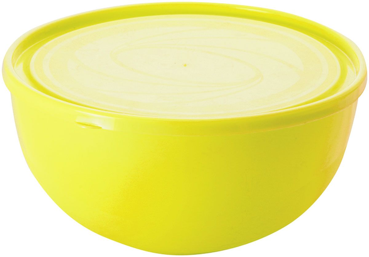 Салатник Plastic Centre Galaxy, с крышкой, цвет: желтый, 4 л83-041-Ф160 ЗЕЛМногофункциональный салатник Plastic Centre Galaxy с крышкой прекрасно подходит как для приготовления, так и для подачи различных блюд на стол. Лаконичный дизайн впишется в любую обстановку кухни. Крышка сохранит свежесть приготовленных блюд.Объем салатника: 4 л.Диаметр салатника: 26 см.Высота салатника: 13 см.