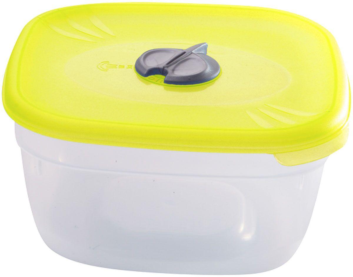 Емкость для СВЧ Plastic Centre, с паровыпускным клапаном, цвет: желтый, прозрачный, 500 млПЦ2211ЛМНМногофункциональная емкость для хранения различных продуктов, разогрева пищи, замораживания ягод и овощей в морозильной камере и т.п. При хранении продуктов емкости можно ставить одну на другую, сохраняя полезную площадь холодильника или морозильной камеры.Размер контейнера: 12 x 12 x 5,5 см.Вес контейнера: 40 г.