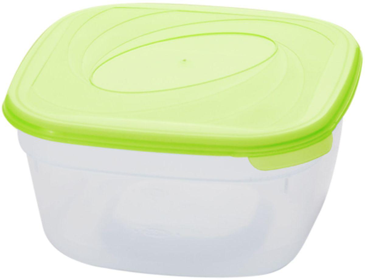 Емкость для СВЧ Plastic Centre Galaxy, цвет: светло-зеленый, прозрачный, 1 л94672Многофункциональная емкость для хранения различных продуктов, разогрева пищи, замораживания ягод и овощей в морозильной камере и т.п. При хранении продуктов емкости можно ставить одну на другую, сохраняя полезную площадь холодильника или морозильной камеры.Размер контейнера: 14,5 х 14,5 х 7,5 см.Объем контейнера: 1 л.