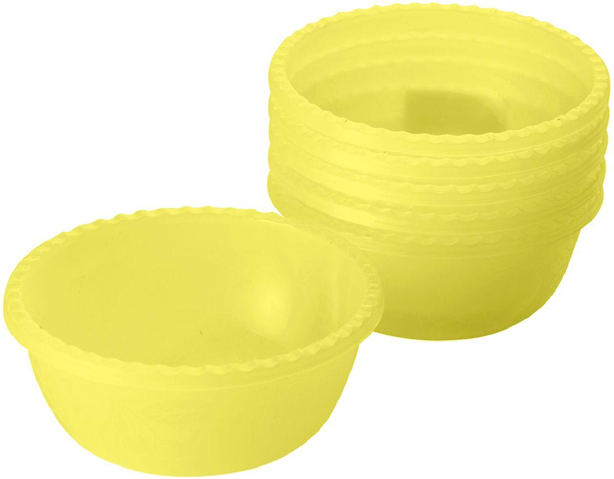 Набор мисок Plastic Centre Фазенда, цвет: желтый, 400 мл, 6 шт54 009312Набор мисок подходит для подачи различных порционных блюд (салаты, десерты и т.п.). Классический дизайн прекрасно подойдет как для дачи, так и может украсить даже праздничный стол.В наборе 6 мисок.Диаметр миски: 400 мл.Диаметр миски: 13,5 см.Высота миски: 11 см.