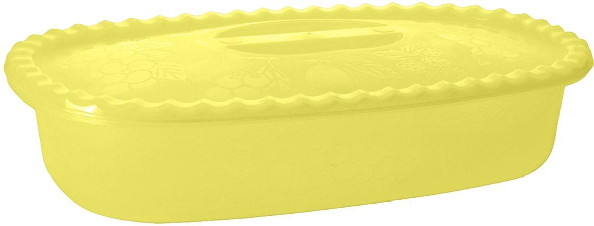 Судок Plastic Centre Фазенда, с крышкой, цвет: желтый, 1,5 л94672Многофункциональный судок с крышкой Plastic Centre Фазенда, прекрасно подходит для подачи различных блюд. Классический дизайн судка украсит даже праздничный стол.Размер изделия: 27,2 x 15,2 x 6,2 см..Объем изделия: 1,5 л.