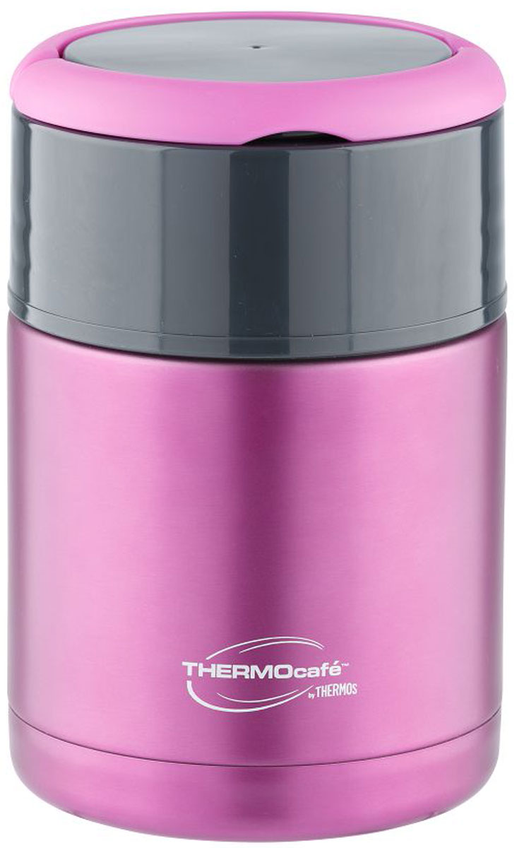 Термос для еды  Thermocafe By Thermos , цвет: сиреневый, 0,8 л. TS3506 - Туристическая посуда