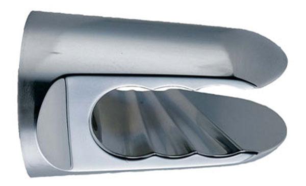 Держатель душевой лейки Iddis. 010CP00I535284_зеленыйДержатель для лейки Iddis изготовлен из ABS-пластика, высокопрочного и легкого материала, с надежным никель-хромовым покрытием, которое гарантирует идеальный зеркальный блеск и защиту изделия на долгий срок. Держатель предусматривает возможность регулировки наклона лейки, что позволяет размещать ее под комфортным углом.В комплект входят крепления.