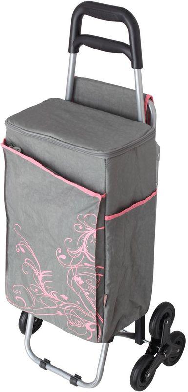 Термосумка Thermos Wheeled Shopping Trolley, цвет: серый, 28 л469878Съемная многофункциональная сумка-термосWheeled Shopping Trolley на колесах отлично подойдет для походов и путешествий.Она сохраняет прохладными продукты питания при передвижении. Слой PEVA - гигиеничен, герметичен, и легко чистится. Одно большое отделение. Застежка молния позволяет легко открывать сумку. Имеется два боковых кармана. Фронтальный карман на застежке молнии.Сумка транспортируется в стул. Прочный стальной каркас стула обеспечивает безопасность и комфорт. Трехколесный механизм удобен на неровной поверхности.Объем: 28 л.