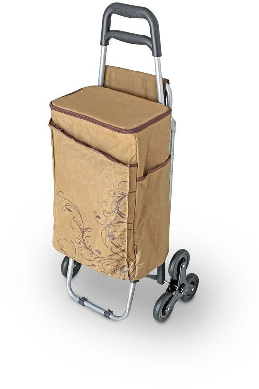 "Термосумка Thermos ""Wheeled Shopping Trolley"", цвет: коричневый, 28 л"