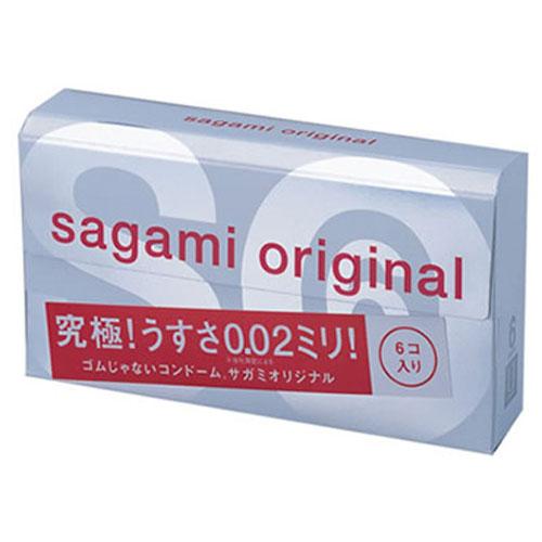 Sagami Original 002 - 6 шт Полиуретановые презервативы 0,02 мм5010777139655Sagami original 002 - самые тонкие и надежные презервативы в Мире!Толщина стенки 0.02mm - в три раза тоньше, чем у стандартных латексных презервативов.Прочность полиуретановых презервативов в 2 раза выше в тестах на растяжение и в 3 раза выше в тестах на объемное расширение.Их теплопроводность в 7 раз выше, чем у латекса. Тепло передается так, как если бы презерватива не было.