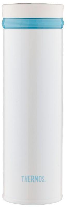 Термос Thermos, цвет: белый, 500 мл. JNO-500934215Термос JNO-500 очень компактный, и поэтому пригодится в длительных поездках, в походе и на рыбалке. Он изготовлен из нержавеющей стали, он безопасен и долговечен.С термосом JNO-500вы сможете насладиться любимым чаем или кофе везде и всегда.Объем: 500 мл.