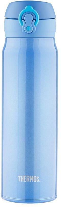 Термос Thermos, цвет: голубой, 600 мл. JNL-602115510Термос JNL-602 это суперлегкий и супертонкий термос, выполненный из стали.У термоса имеется фиксатор от случайного открытия, крышка откидывается полностью и фиксируется. Объем 600 мл.