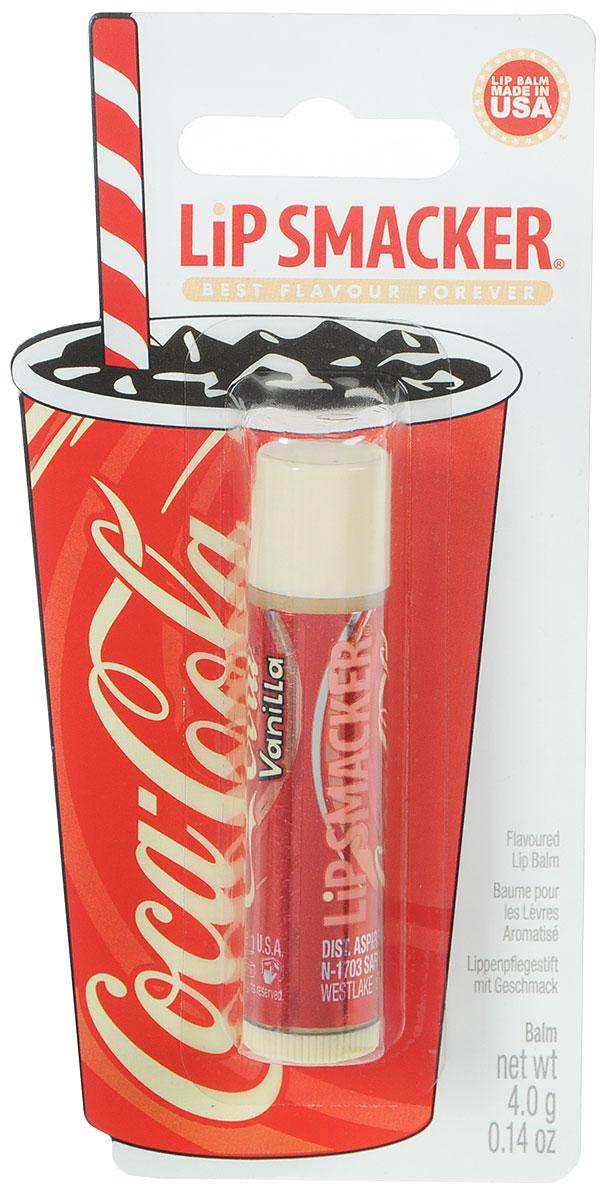 Lip Smacker Бальзам для губ Coca Cola, ванильныйFS-00897Lip Smacker – это оригинальные блески и бальзамы для губ с самыми разнообразными ароматами. Прекрасно смягчают и увлажняют губы, придавая им сияние.