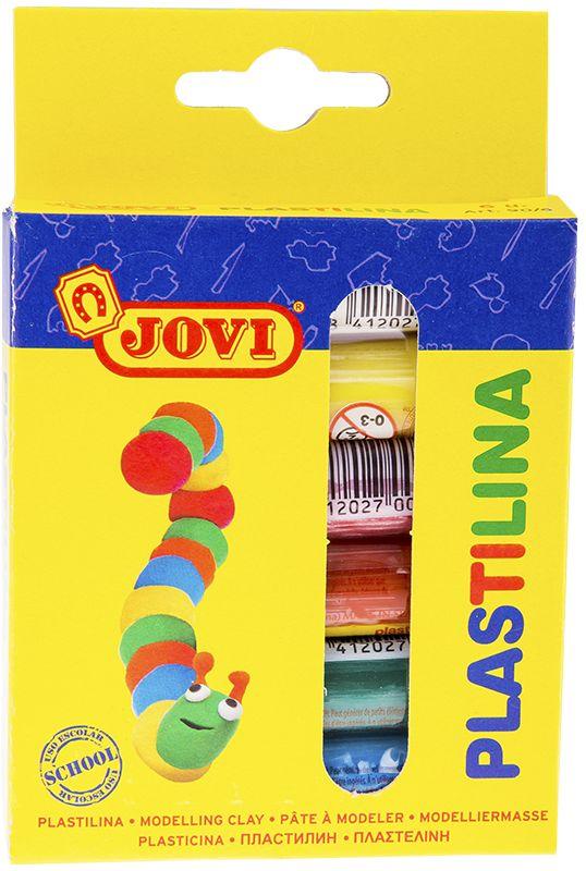 Jovi Пластилин 6 цветов 90 г730396Легендарный пластилин Jovi на растительной основе идеален для начала обучения лепке и для уроков в школе и творческих студиях. Благодаря усовершенствованной формуле с воском пластилин Jovi безопасен, обладает повышенной пластичностью, хорошо лепится, прекрасно держит форму, не деформируется, легко извлекается из формочки, не крошится, не высыхает, цвета прекрасно смешиваются между собой, слепленные фигурки не опадают со временем. Используется для техники Рисование пластилином и пластилиновой мультипликации. Не пачкает руки, снимается с любой поверхности без усилий, не оставляя пятен. Гипоаллергенен, без консервантов, не содержит глютен. Набор пластилина на растительной основе из шести базовых цветов (белый, желтый, красный, голубой, зеленый, коричневый) по 15 грамм в картонной коробке с европодвесом. Страна производства Испания.
