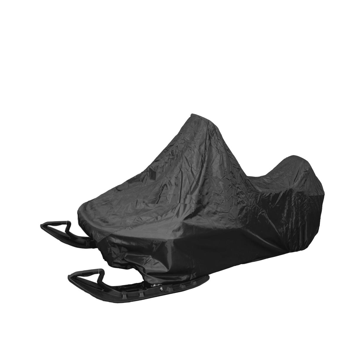 Чехол AG-brand, для снегохода Yamaha Viking 540, цвет: черныйK100Чехол AG-brand предназначен для хранения и транспортировки снегохода Yamaha Viking 540. Он изготовлен из высокопрочной прочной ткани с высоким показателем водоупорности. По нижней кромке чехла вшита плотная резинка, обеспечивающая надежную фиксацию. В комплект транспортировочного чехла входит прочная текстильная стропа для крепления техники в прицепе или специальном боксе для перевозки.Чтобы любое транспортное средство служило долгие годы, необходимо не только соблюдать все правила его эксплуатации, но и правильно его хранить. Негативное влияние на состояние техники оказывают прямые солнечные лучи, влага, пыль, которые не только могут вызвать коррозию внешних металлических поверхностей, но и вывести из строя внутренние механизмы транспортных средств. Необходимо создать условия для снижения воздействия этих негативных факторов. Именно для этого и предназначены чехлы. Мешок для транспортировки и хранения входит в комплект.