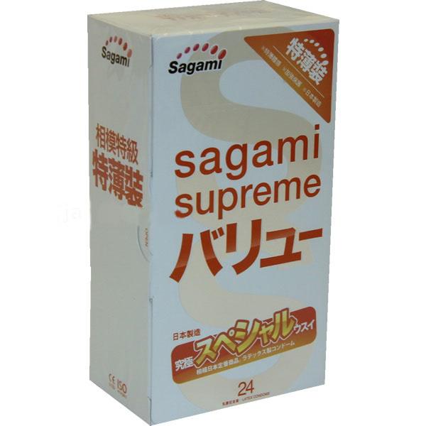 Sagami Xtreme 24шт. Презервативы ультратонкие, латекс 0,04 мм143161Ультратонкие презервативы SAGAMI XtremeСовременные технологии позволили изготовить презервативы почти в два раза тоньше стандартных аналогов! Ультратонкая толщина стенок (0,04 мм) этих латексных презервативов делает их использование более комфортным и незаметным и способствует большей естественности ощущений.