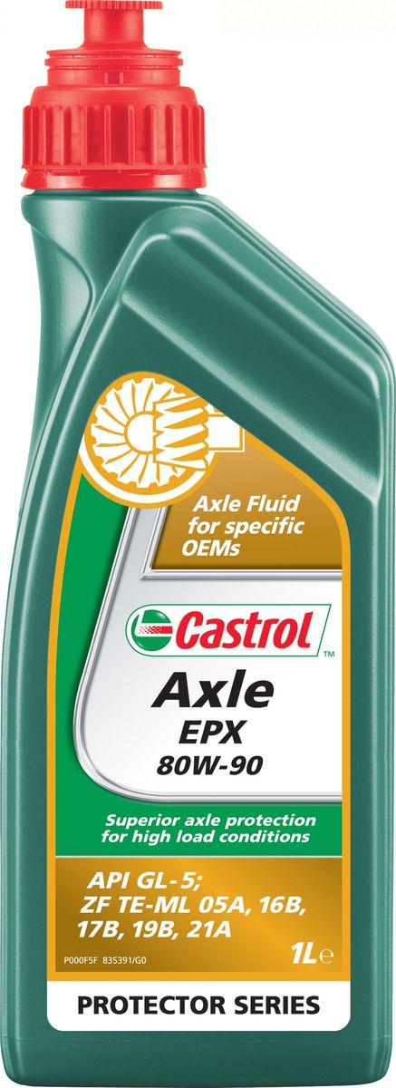 Трансмиссионное масло для мостов Castrol Axle EPX 80W-90,1 л