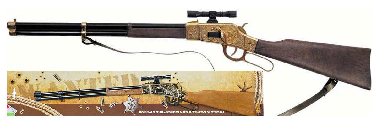 Villa Винтовка Команче цвет золотистый - Игрушечное оружие