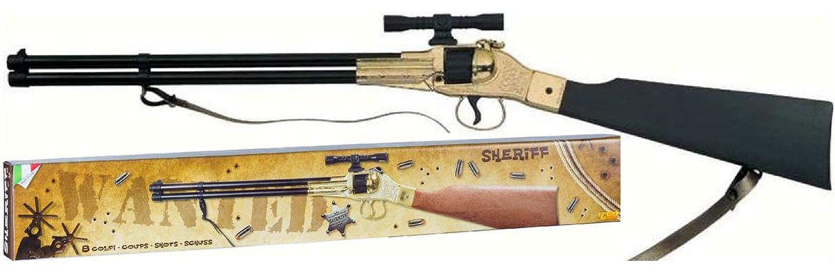Villa Винтовка Шериф цвет золотистый - Игрушечное оружие