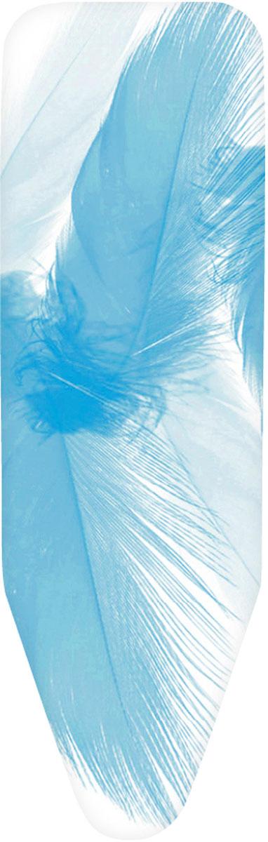 Чехол для гладильной доски Brabantia Перышко, 124 см х 38 см. 265006IR-F1-WЧехол для гладильной доски Brabantia Перышко, выполненный из хлопка, с ярким изображением перьев подарит вашей доске новую жизнь и создаст идеальную поверхность для глажения и отпаривания белья. Чехол разработан специально для гладильных досок Brabantia и подходит для большинства утюгов и паровых систем. Изделие оснащено подкладкой из поролона (4 мм). Благодаря системе фиксации (эластичный шнурок с ключом для натяжения и резинка с крючками по центру) чехол легко крепится к гладильной доске, а поверхность всегда остается гладкой и натянутой. С помощью цветной маркировки на чехле и гладильной доске вы легко подберете чехол подходящего размера.Комплектация: - чехол, - пластиковый ключ для натяжения шнурка, - резинка с крючками.