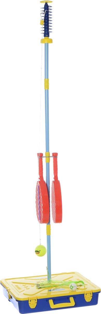 Mookie Игровой набор Веселый теннис цвет синий красный желтый