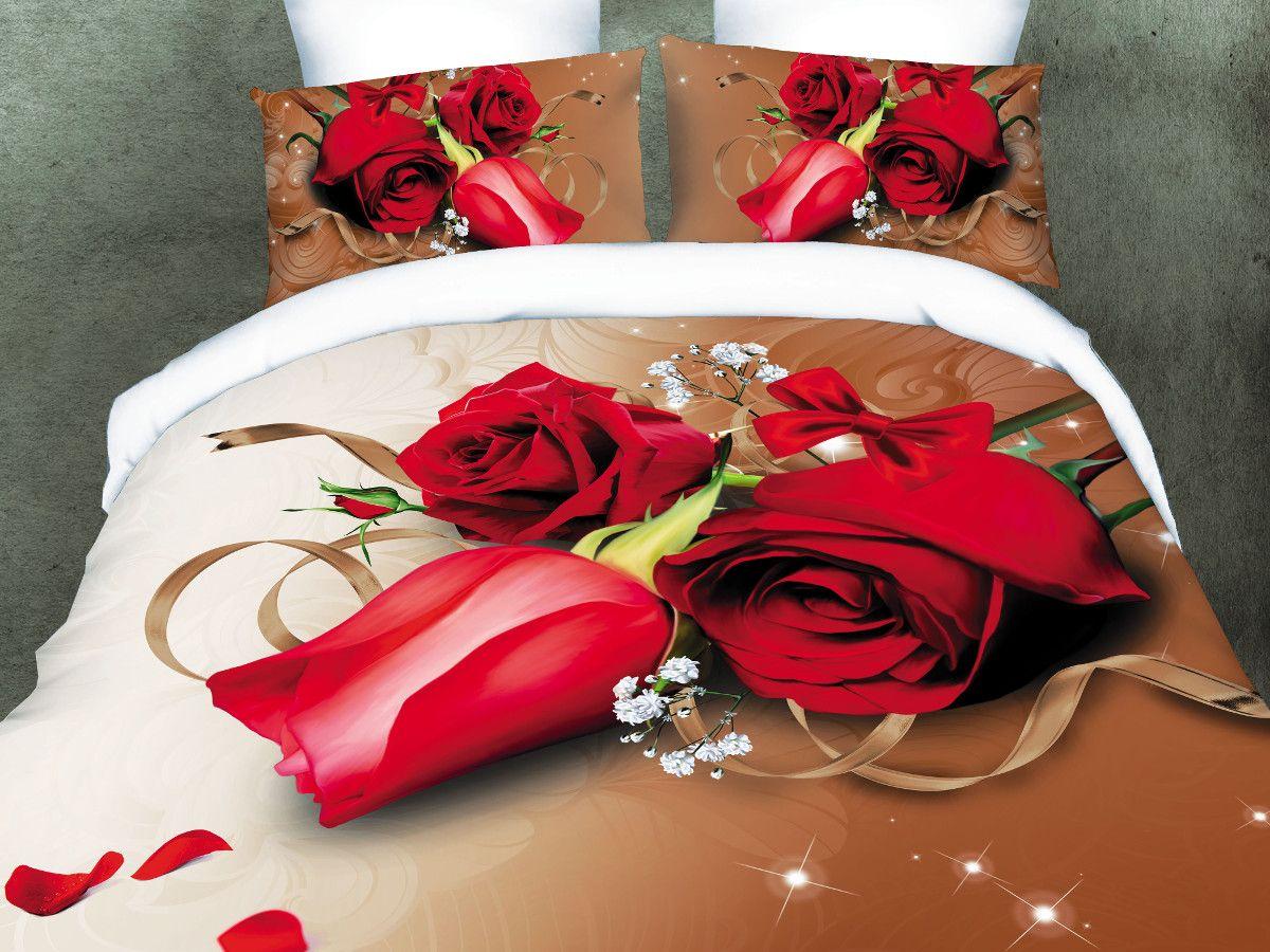 Комплект белья Cleo Романтизм, 1,5-спальный, наволочки 70х70391602Комплект постельного белья из полисатина Cleo - это шелковая прохлада в любое время года! Тонкое, средней плотности, с шелковистой поверхностью и приятным блеском постельное белье устойчиво к износу, не выгорает, не линяет, рассчитано на многократные стирки. Двойная скрутка волокон позволяет получать довольно плотный, прочный на разрыв материал. Легко отстирывается, быстро сохнет и самой важно для хозяек - не мнется! Комплект состоит из пододеяльника, простыни и двух наволочек.