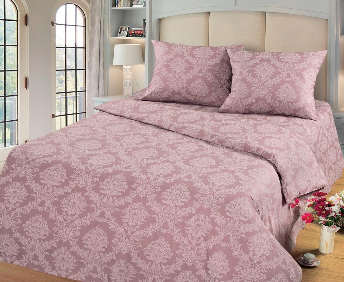 Комплект белья Cleo Аметист, 1,5 спальное, наволочки 70х70, цвет: темно-розовый15/003-PGКомплект постельного белья Cleo выполнен из поплина в романтическом стиле, визуально текстура нанесения рисунка напоминает жаккард. Поплин - 100% хлопок, ему характерен репсовый эффект, который образуется методом чередования толстых и тонких нитей, в результате на поверхности появляются рубчики, создавая неравномерность полотна. Постельное белье из поплина обладает рядом преимуществ: мягкое и шелковистое, натуральное, экологически чистое, гипоаллергенное, прочное, не деформируется, не растягивается и держит форму, пропускает воду и воздух, прекрасно стирается в прохладной воде. Комплект состоит из пододеяльника, двух наволочек, простыни.