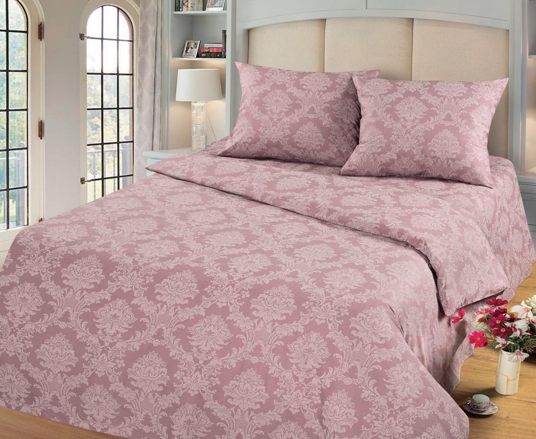 Комплект белья Cleo Топаз, евро, наволочки 50х70, 70х70, цвет: темно-розовый391602Комплект постельного белья Cleo выполнен из поплина в романтическом стиле, визуально текстура нанесения рисунка напоминает жаккард. Поплин - 100% хлопок, ему характерен репсовый эффект, который образуется методом чередования толстых и тонких нитей, в результате на поверхности появляются рубчики, создавая неравномерность полотна. Постельное белье из поплина обладает рядом преимуществ: мягкое и шелковистое, натуральное, экологически чистое, гипоаллергенное, прочное, не деформируется, не растягивается и держит форму, пропускает воду и воздух, прекрасно стирается в прохладной воде. Комплект состоит из пододеяльника, четырех наволочек, простыни.