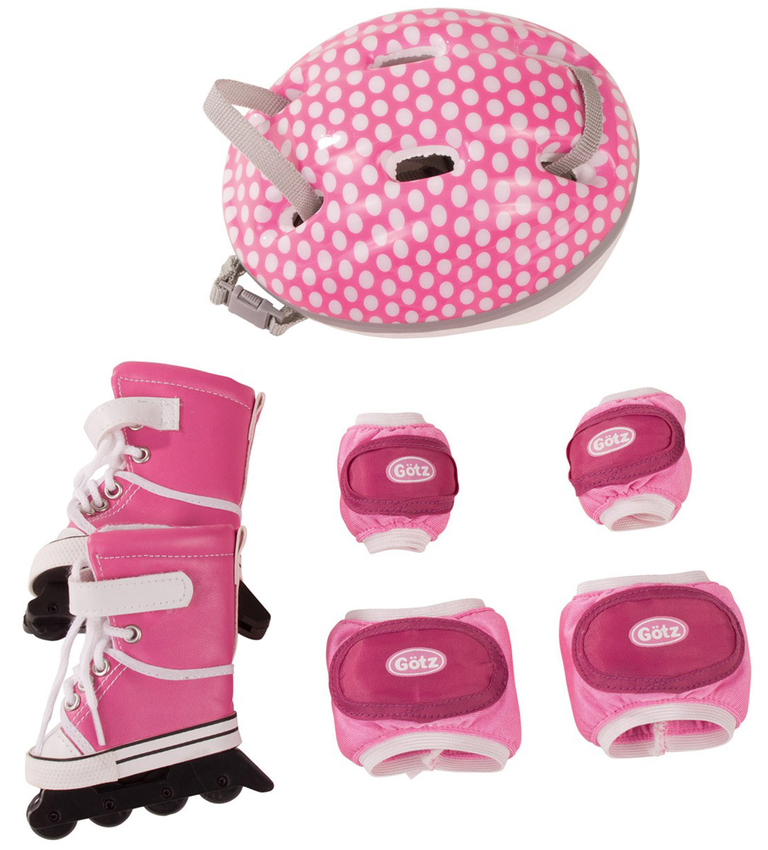 Gotz Набор для катания на роликах аксессуары для кукол gotz набор зимней спортивной одежды для куклы для куклы
