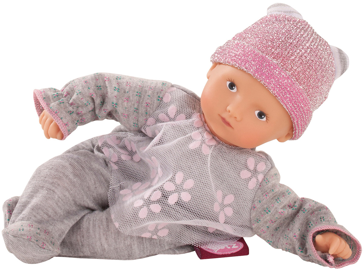 Gotz Пупс Мини Маффин цвет наряда серый gotz пупс макси маффин в розовом костюме