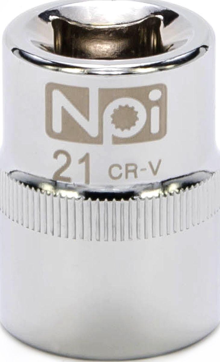 Головка торцевая NPI SuperLock, 1/2, 21 мм6271DWAEТорцевая головка NPI выполнена из высокопрочная хром-ванадиевой стали и применяется с гайковертами, трещетками, воротками. Торцевая головка выполнена по технологии Суперлок. Торцевая головка обеспечивает максимальный крутящий момент по отношению к резьбе и выдерживает ударные нагрузки. Размер ключа (метрический): 21 мм.Размер ключа (дюймы): 1/2 .Посадочный размер: 1/2.Длина головки: 38 мм.