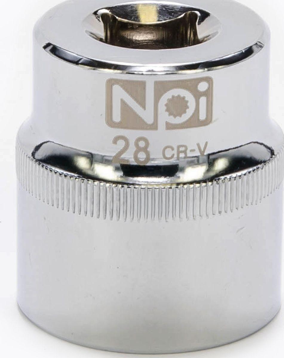 Головка торцевая NPI SuperLock, 1/2, 28 мм98293777Торцевая головка NPI выполнена из высокопрочная хром-ванадиевой стали и применяется с гайковертами, трещетками, воротками. Торцевая головка выполнена по технологии Суперлок. Торцевая головка обеспечивает максимальный крутящий момент по отношению к резьбе и выдерживает ударные нагрузки. Размер ключа (метрический): 28 мм.Размер ключа (дюймы): 1/2 .Посадочный размер: 1/2.Длина головки: 42 мм.