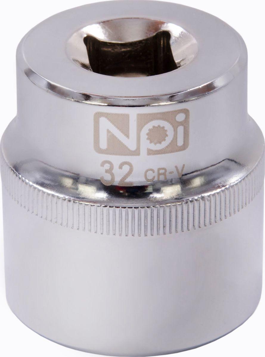 Головка торцевая NPI SuperLock, 1/2, 32 ммPsr 1440 li-2Торцевая головка NPI выполнена из высокопрочная хром-ванадиевой стали и применяется с гайковертами, трещетками, воротками. Торцевая головка выполнена по технологии Суперлок. Торцевая головка обеспечивает максимальный крутящий момент по отношению к резьбе и выдерживает ударные нагрузки. Размер ключа (метрический): 32 мм.Размер ключа (дюймы): 1/2 .Посадочный размер: 1/2.Длина головки: 44 мм.