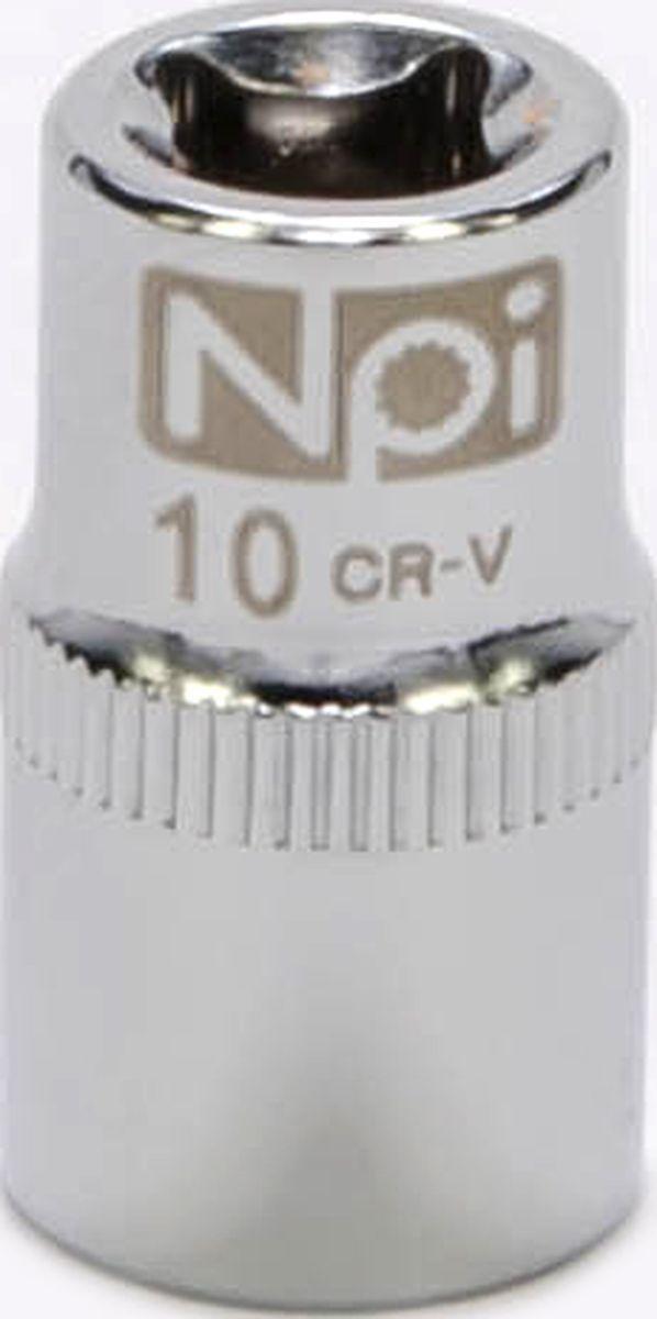 Головка торцевая NPI SuperLock, 1/4, 10 ммCA-3505Торцевая головка NPI выполнена из высокопрочная хром-ванадиевой стали и применяется с гайковертами, трещетками, воротками. Торцевая головка выполнена по технологии Суперлок. Торцевая головка обеспечивает максимальный крутящий момент по отношению к резьбе и выдерживает ударные нагрузки. Размер ключа (метрический): 10 мм.Размер ключа (дюймы): 1/4 .Посадочный размер: 1/4.Длина головки: 25 мм.