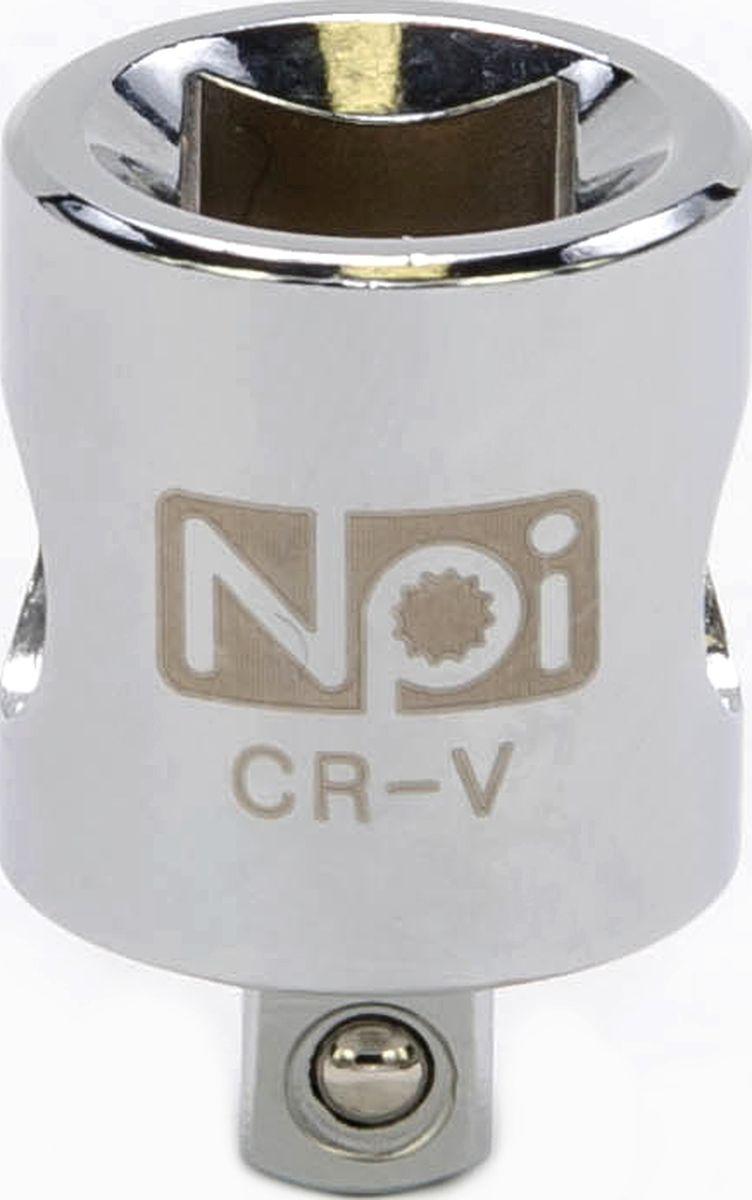 Переходник NPI, 1/4-3/820016Переходник NPI изготовлен из высокопрочной хром-ванадиевой стали. Переходник 3/8 M x 1/4 F. Длина: 26 мм.