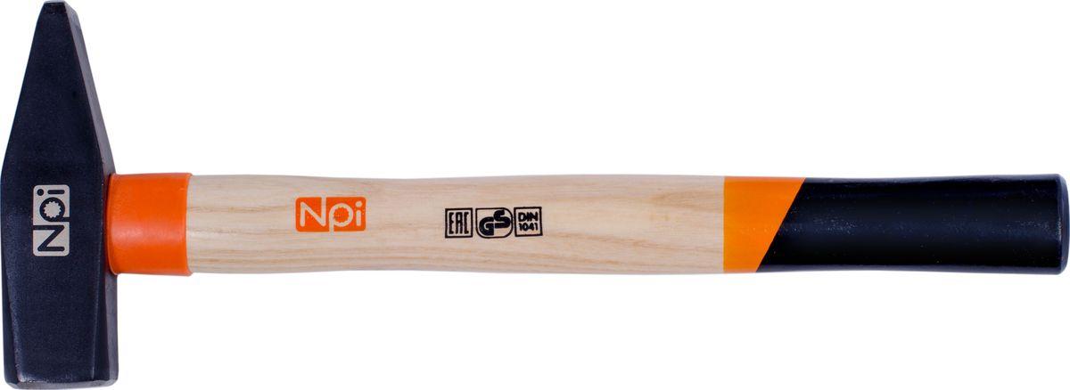 Молоток слесарный NPI, 1000 гYT-25854Слесарный молоток NPI предназначен для мелких монтажных и строительных работ. Головка инструмента (боек), кованная, закаленная индукционным методом, крепится с помощью расклинивания. Молоток имеет герметизацию верхней части соединения бойка для защиты от рассыхания. Рукоятка эргономической формы выполнена из ясеневой древесины и имеет защитное кольцо.