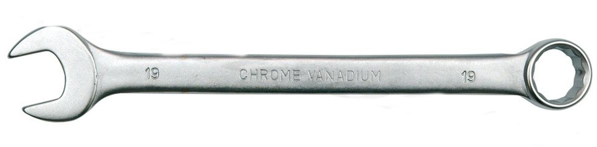 Ключ комбинированный Vorel Сатин CrV, 16 мм80621Ключ комбинированный VOREL САТИН, размер 16 мм, выполнен из инструментальной стали CrV.