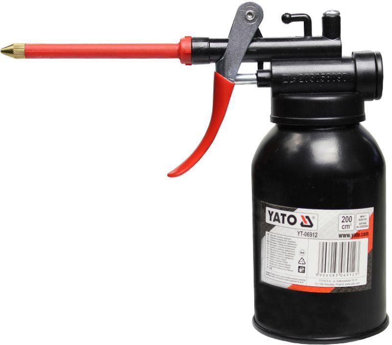 Масленка-нагнетатель Yato, 0,2 лCA-3505Масленка-нагнетатель Yato, объем 0,2 л.