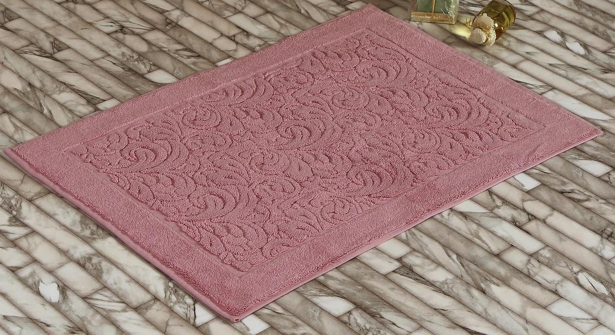 Коврик для ванной Karna Gonca. Esra, цвет: розовый, 50 х 70 см391602Коврик-полотенце для ванной Karna выполнен из высококачественного хлопкового волокна. Имеет рельефный рисунок. Высочайшее качество материала гарантирует безопасность для всех членов семьи. Коврик не аллергенен, имеет высокую воздухопроницаемость и долгий срок использования ткани.Размер: 50 х 70 см.