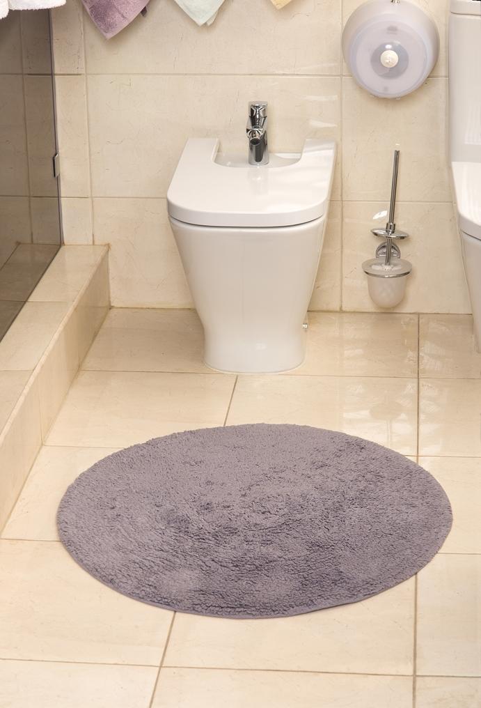 Коврик для ванной Karna Modalin. Corcus, цвет: фиолетовый, 75 х 75 см5041/CHAR005Коврики для ванной Karna изготовлены из 100% хлопка.Махровое изделие отлично впитывает воду и быстро сохнет. На впитывающие качества махры (ее гигроскопичность) влияет состав волокон. Махра абсолютно не аллергенна, имеет высокую воздухопроницаемость и долгий срок использования ткани.