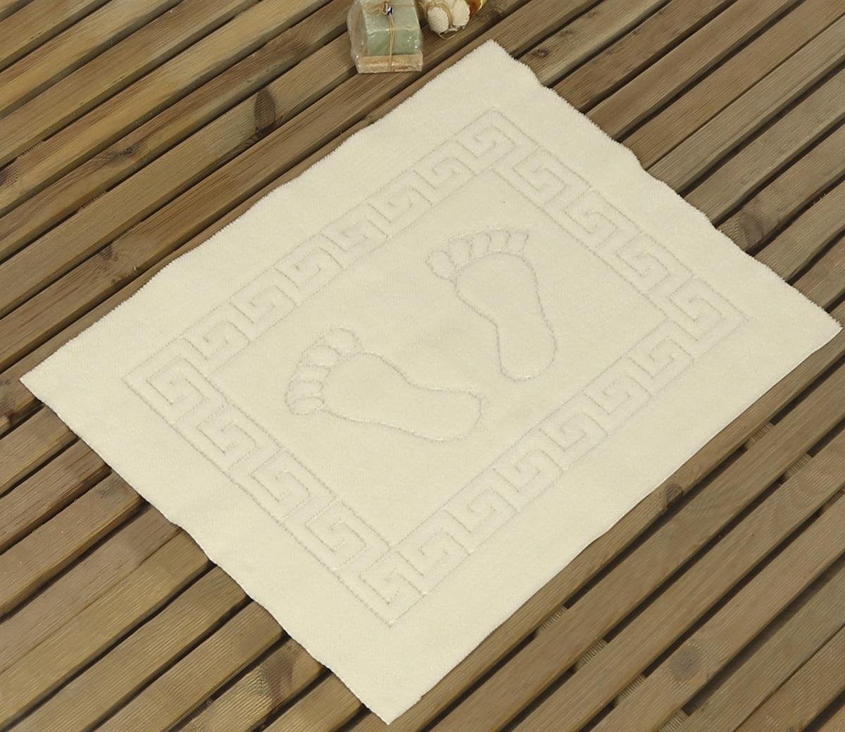 Коврик для ванной Karna Likya , цвет: кремовый, 50 х 70 см631/CHAR008Коврик Karna сделан из 100% полиэстера. Полиэстер является синтетическим волокном. Ткань, полностью изготовленная из полиэстера, даже после увлажнения, очень быстро сохнет. Изделия из полиэстера практически не требовательны к уходу и обладают высокой устойчивостью к износу. Изделия из полиэстера не мнутся и легко стираются, после стирки очень быстро высыхают. Материал очень прочный, за время использования не растягивается и не садится. А так же обладает высокой влагонепроницаемостью.