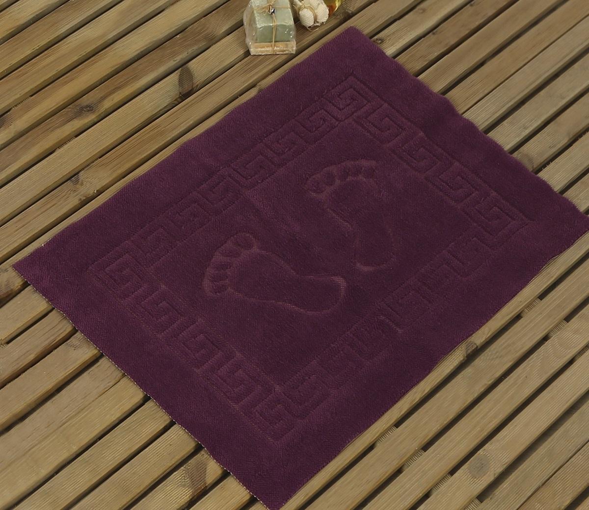 Коврик для ванной Karna Likya , цвет: фиолетовый, 50 х 70 см531-105Коврик печатный Karna сделан из 100% полиэстера. Полиэстер является синтетическим волокном. Ткань, полностью изготовленная из полиэстера, даже после увлажнения, очень быстро сохнет. Коврик из полиэстера практически не требователен к уходу и обладает высокой устойчивостью к износу.Коврик из полиэстера не мнётся и легко стирается, после стирки очень быстро высыхает. Материал очень прочный, за время использования не растягивается и не садится. А так же обладает высокой влагонепроницаемостью.Размер: 50 х 70 см.