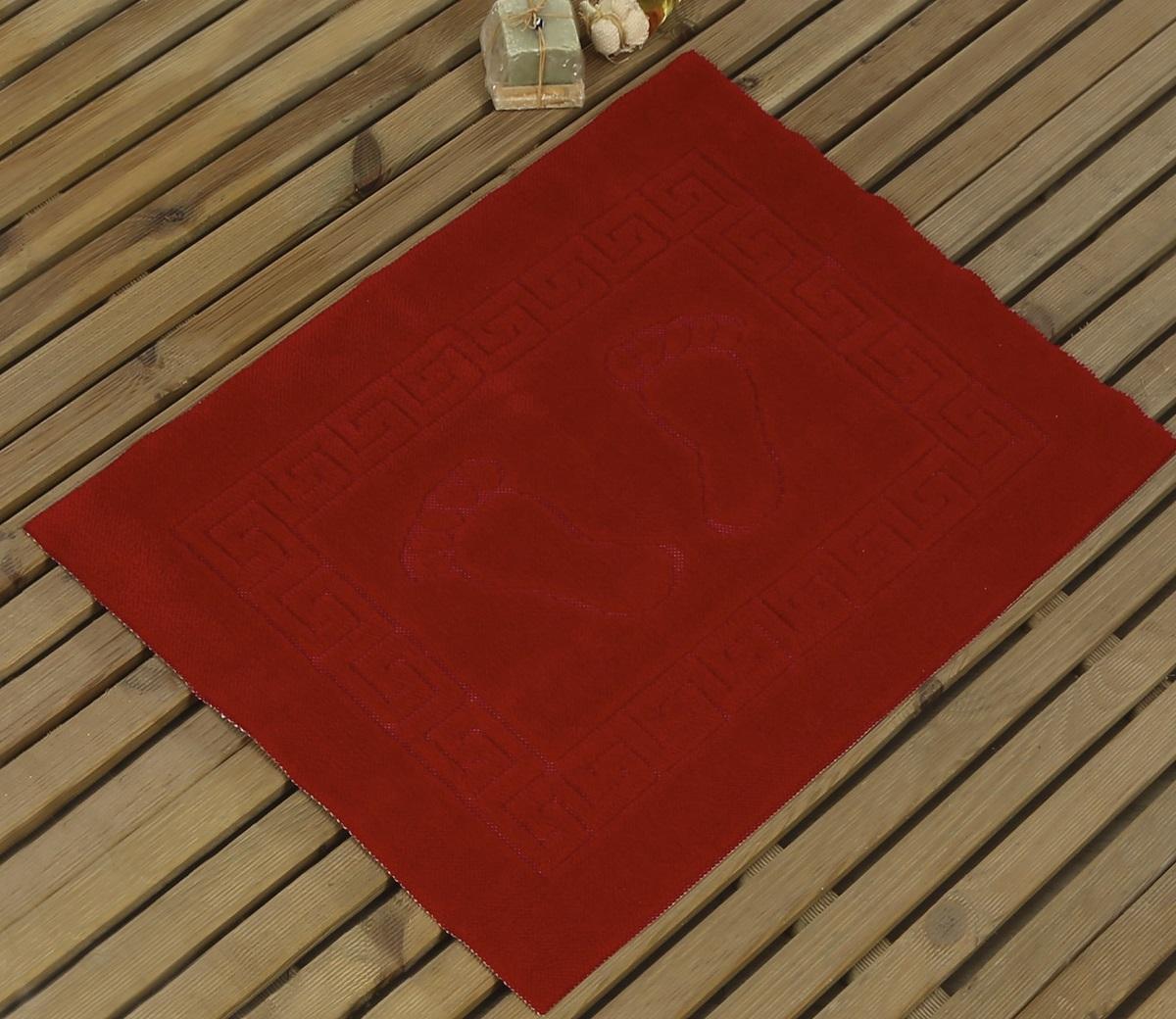 Коврик для ванной Karna Likya , цвет: красный, 50 х 70 см631/CHAR016Коврик печатный Karna сделан из 100% полиэстера. Полиэстер является синтетическим волокном. Ткань, полностью изготовленная из полиэстера, даже после увлажнения, очень быстро сохнет. Коврик из полиэстера практически не требователен к уходу и обладает высокой устойчивостью к износу.Коврик из полиэстера не мнётся и легко стирается, после стирки очень быстро высыхает. Материал очень прочный, за время использования не растягивается и не садится. А так же обладает высокой влагонепроницаемостью.Размер: 50 х 70 см.