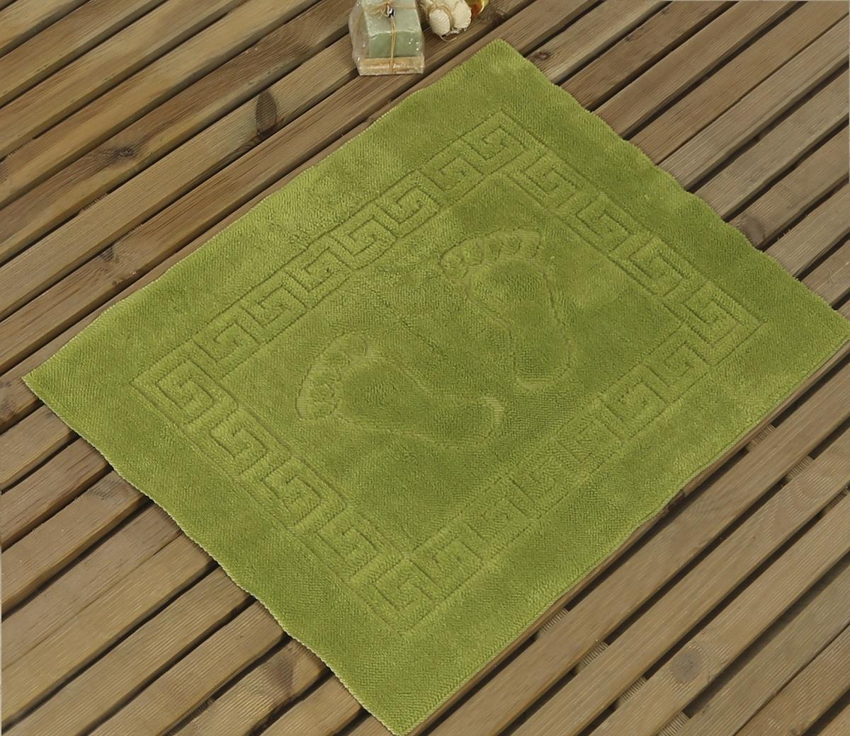 Коврик для ванной Karna Likya , цвет: зеленый, 50 х 70 см631/CHAR019Коврик Karna сделан из 100% полиэстера. Полиэстер является синтетическим волокном. Ткань, полностью изготовленная из полиэстера, даже после увлажнения, очень быстро сохнет. Изделия из полиэстера практически не требовательны к уходу и обладают высокой устойчивостью к износу. Изделия из полиэстера не мнутся и легко стираются, после стирки очень быстро высыхают. Материал очень прочный, за время использования не растягивается и не садится. А так же обладает высокой влагонепроницаемостью.