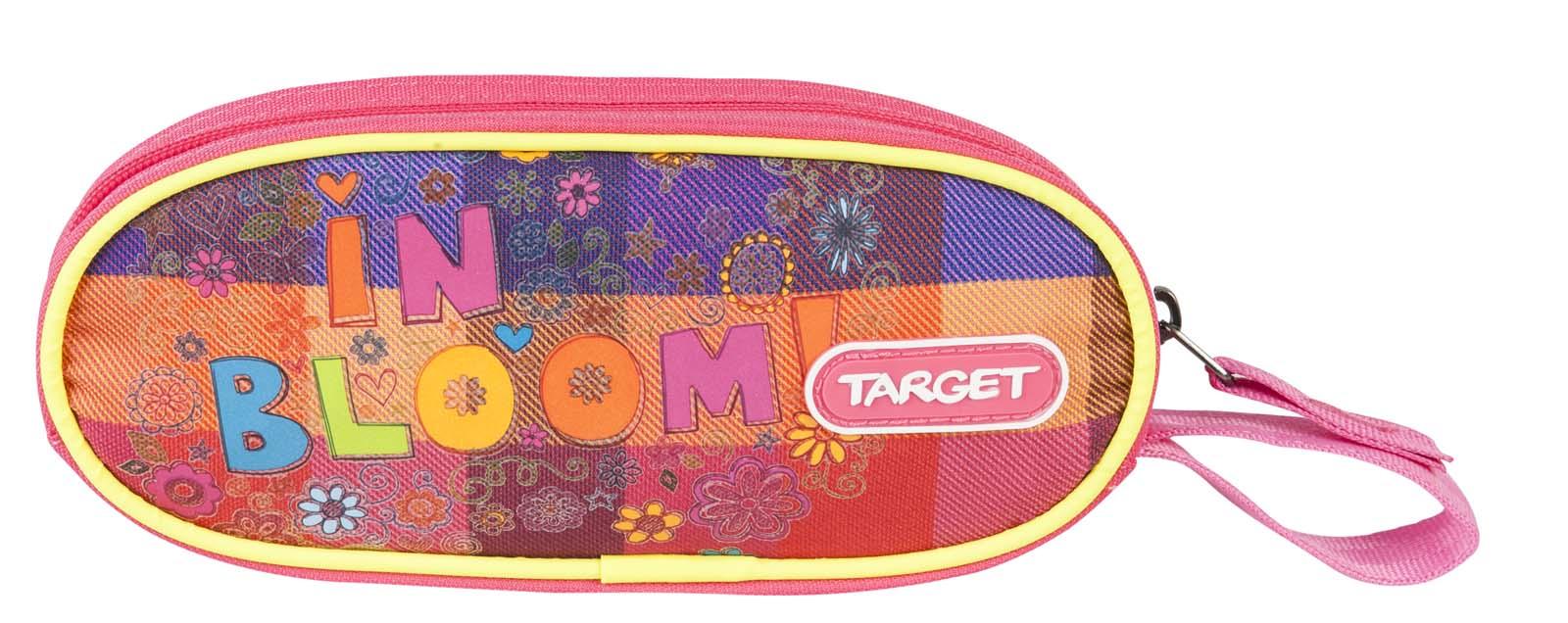 Target Collection Пенал Цветение72523WDПенал овальный школьный. Без наполнения. Размер: 21 x 9 x 4 см. Материал: Полиэстер. Предназначен для школьников 6-16 лет. Застежка-молния.