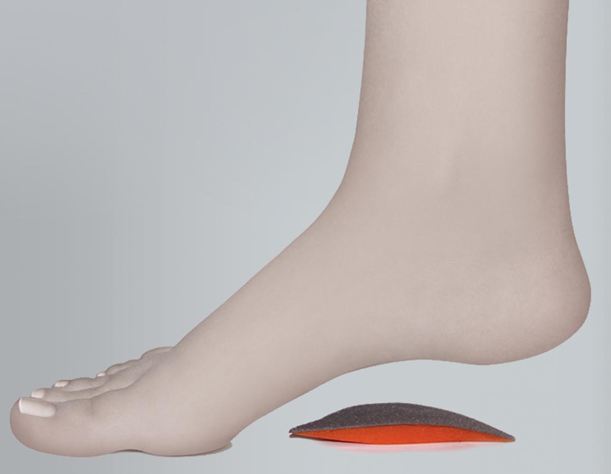 Timed Супинатор силиконовый TI-016 р-р16042053Супинатор силиконовый TI-016 поддерживает внутренний продольный свод стопы Особенности:состав: 100% медицинский силикон, тканевая основаподдерживает внутренний продольный свод стопысоздает комфортные условия при ходьбеподходит для всех типов обувив упаковке 2 шт