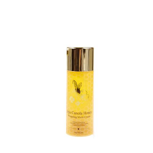 The Yeon Jeju Canola Мультифункциональный защитный крем, 100мл20014181Крем восстанавливает эластичность, улучшает жизненный тонус и способствует интенсивному увлажнению кожи. Флакон блокирует попадание воздуха, благодаря чему средство не окисляется и сохраняет эффективность средства длительное время. Хорошо увлажняет, смягчает и питает кожу, стимулирует водно-солевой и жировой обмен в эпидермальных клетках, оказывает регенерирующее и очищающее действие, облегчая удаление ороговевших клеток.